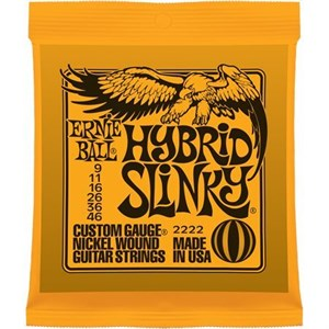 Ernie Ball 2222 Hybrid Slinky  9-46