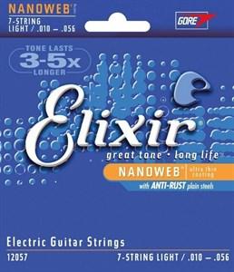 ELIXIR 12057 Nanoweb 7-string Light