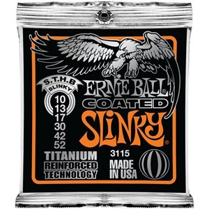 Ernie Ball 3115 10-52 Coated Titanium Reinforced