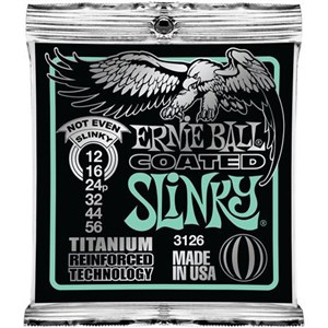 Ernie Ball 3126 12-56 Coated Titanium Reinforced