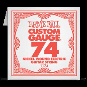 Отдельная струна 74 Ernie Ball для электрогитары