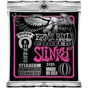 ERNIE BALL 3123 Coated Titanium 9-42