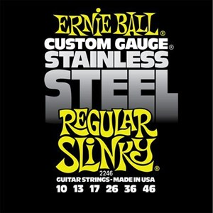 10-46 ERNIE BALL Stainless Steel 2246