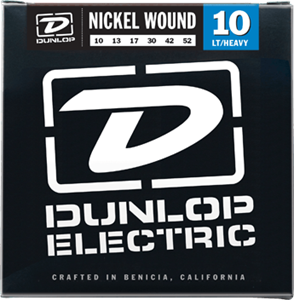 10-52 Dunlop Nickel Wound Lt-Heavy DEN1052