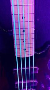 Синие неоновые струны DR Neon Blue
