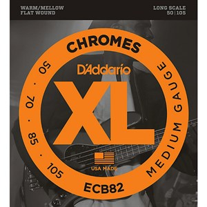 50-105 DAddario ECB82 Chromes Medium (плоские)