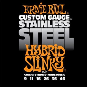 9-46 ERNIE BALL 2247 Stainless Steel