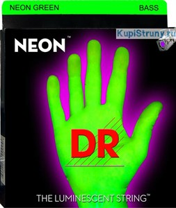 40-120 DR NEON Green Bass NGB5-40