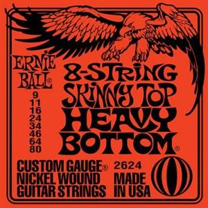 9-80 ERNIE BALL 2624 Slinky 8-String