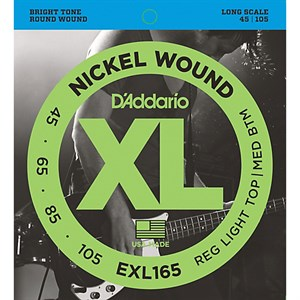 D`ADDARIO EXL165 XL NICKEL