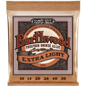 Струны ERNIE BALL 2150 Phosphor Bronze extra light 10-50