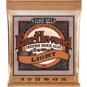 Струны ERNIE BALL 2148 Phosphor Bronze light 11-52
