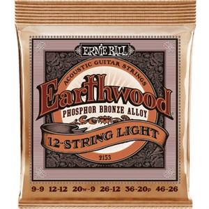 ERNIE BALL 2153 Phosphor Bronze 12-string light 9-46