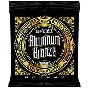 ERNIE BALL 2564 Aluminum Bronze medium 13-56