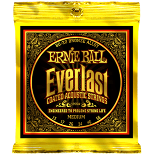 ERNIE BALL 2554 Everlast Coated 80/20 Bronze medium 13-56