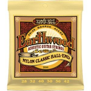 ERNIE BALL 2069 Earthwood Ball-End (clear nylon bronze)