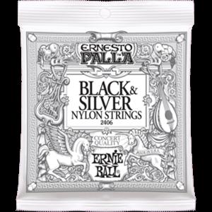 ERNIE BALL 2406 Ernesto Palla (black nylon silver)