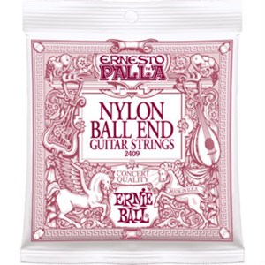 ERNIE BALL 2409 Ernesto Palla Ball-End (black nylon bronze)