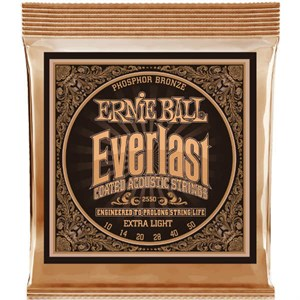 ERNIE BALL 2550 10-50 Everlast Phosphor Bronze extra light