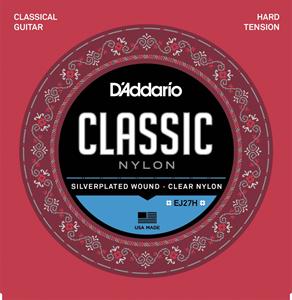 DAddario EJ27H Classic Nylon, сильное натяжение - новая упаковка