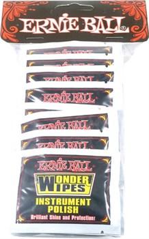 Ernie Ball 4248 Wonder Wipes (20 шт., салфетки-полироль для гитары)