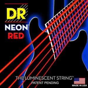 Струны 10-46 DR NEON NRE10 Red Electric - фото 6670