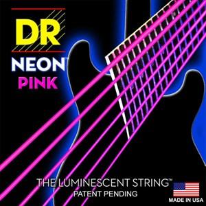 DR Neon Pink 10-13-17-26-36-46 для электрогитары