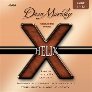 11-52 DEAN MARKLEY Helix Phosphor Bronze 2086