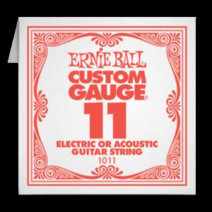 1-я струна 11 ERNIE BALL (для электро или акустики)