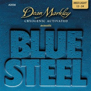 12-54 Dean Markley Blue Steel Acoustic 2036