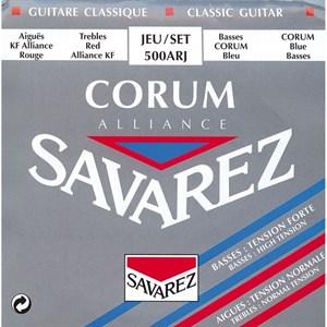Струны SAVAREZ 500 ARJ Corum Alliance Carbon (карбон, среднее/сильное натяжение)