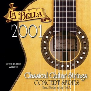 LA BELLA 2001 Concert Series Medium|Hard
