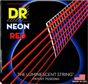 DR NEON Red Acoustic NRA-11