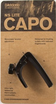 Каподастр Planet Waves CP-07 NS Capo Lite (для акустики и электро, 6 струн) - фото 7049