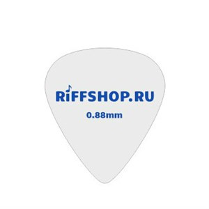 Медиаторы RiFF (материал Acetal, белый пластик)