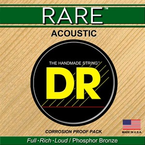 Струны DR RARE RPML-11 custom light 11-50, phosphor bronze - фото 7187