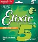 5-я струна для бас-гитары Elixir Taper Wound 130