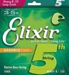 5-я струна для бас-гитары Elixir Nanoweb Heavy 135