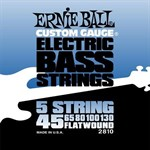 Плоские струны Ernie Ball 2810 Flat Wound