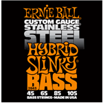 Ernie Ball 2843 45-105 Stainless Steel