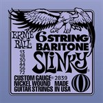 Струны Ernie Ball 13-72 Baritone Slinky 2839