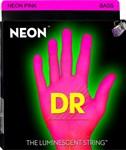 Струны для бас-гитары DR Neon Pink 45-105