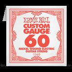 Отдельная струна 60 Ernie Ball для электрогитары