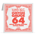 Отдельная струна 64 Ernie Ball для электрогитары