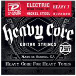 10-60 Dunlop Heavy Core 7-string Nickel Wound