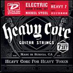 10-60 Dunlop Heavy Core 7-string Nickel Wound