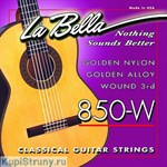 LA BELLA 850-W Golden Nylon Golden Alloy