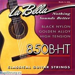 LA BELLA 850B-HT Black Nylon Golden Alloy