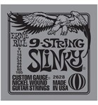 ERNIE BALL 2628 9-STRING SLINKY - (9-11-16-24-34-46-64-80-105)