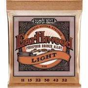 Струны ERNIE BALL 2148 Phosphor Bronze light 11-52
